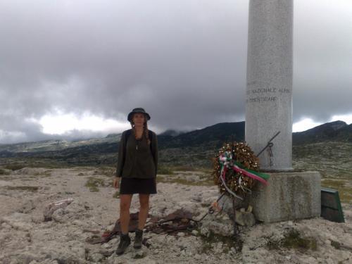 sulla storica cima del monte ortigara